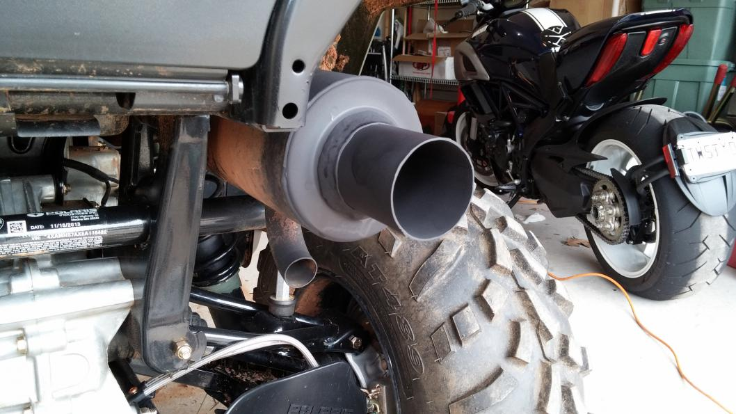 2015 Polaris Rzr >> Sportsman 570 stock exhaust modded - Polaris ATV Forum