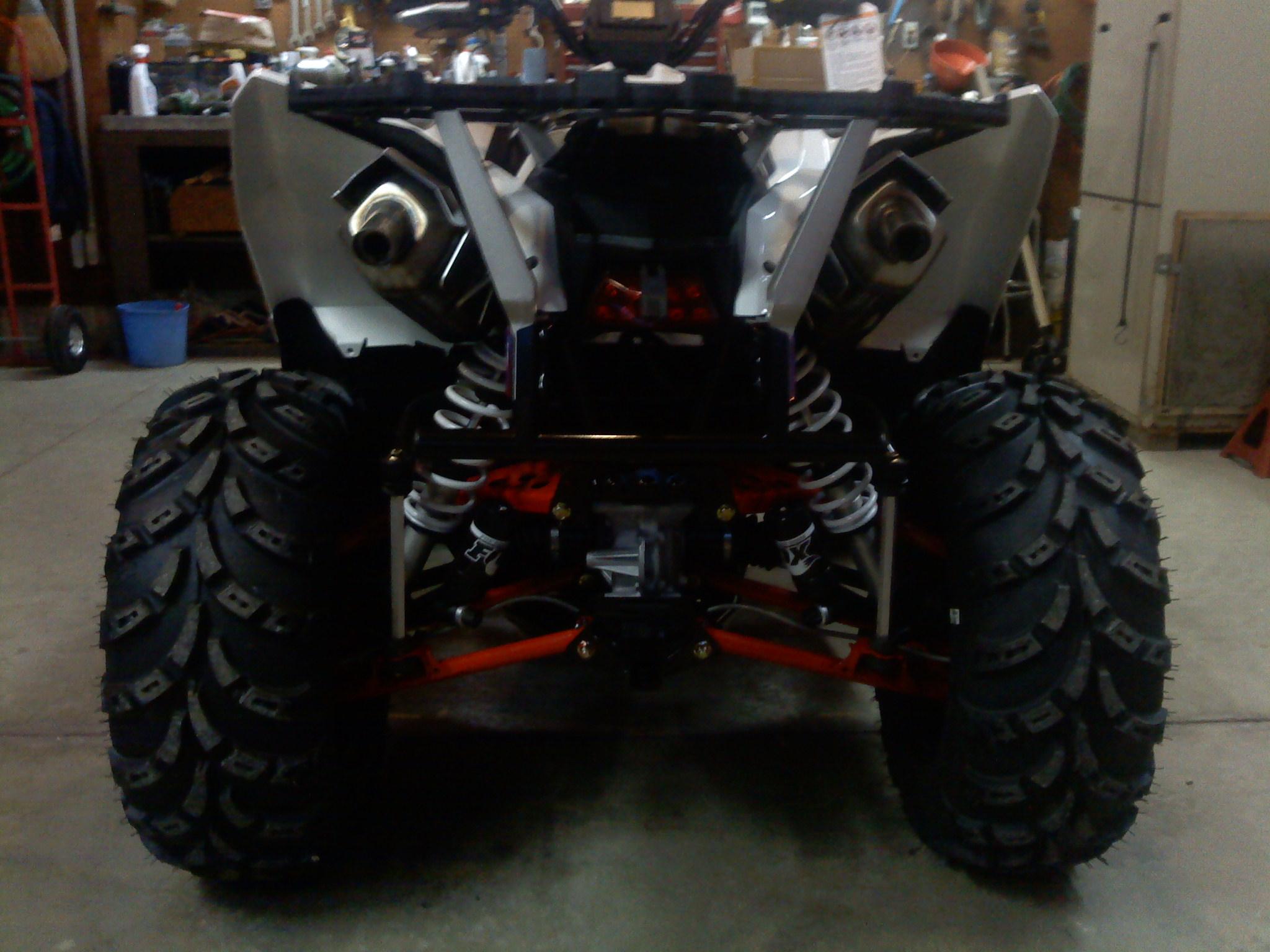 Polaris Outlaw 525 >> My 1000 has finally arrived! - Polaris ATV Forum