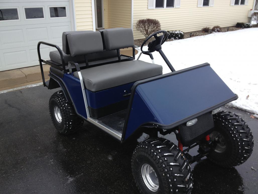 96 polaris 425 4x4 magnum for a ezgo golf cart - Polaris ...