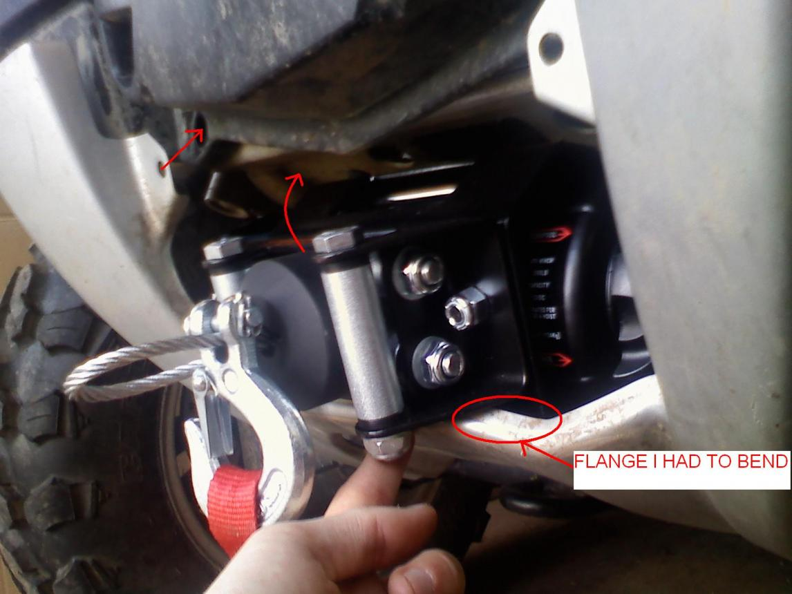 XP 850 Winch Mount - Polaris ATV Forum