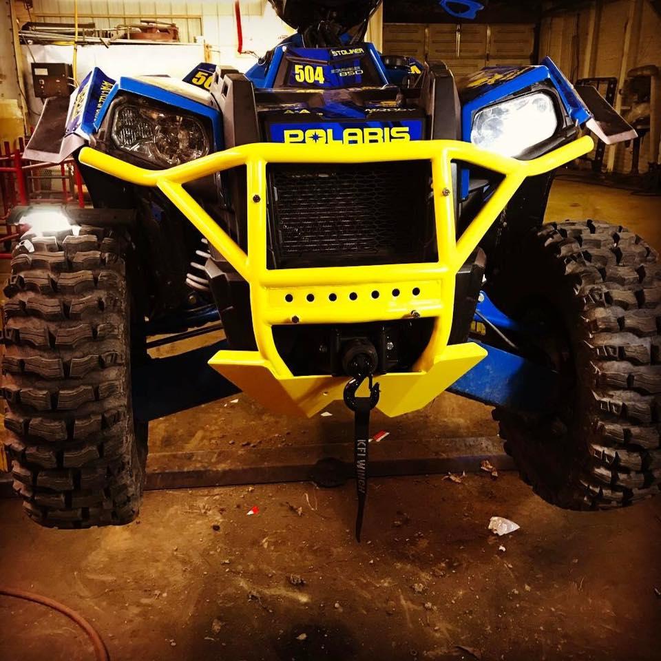 Polaris Scrambler 850 >> Gladiator bumpers - Polaris ATV Forum
