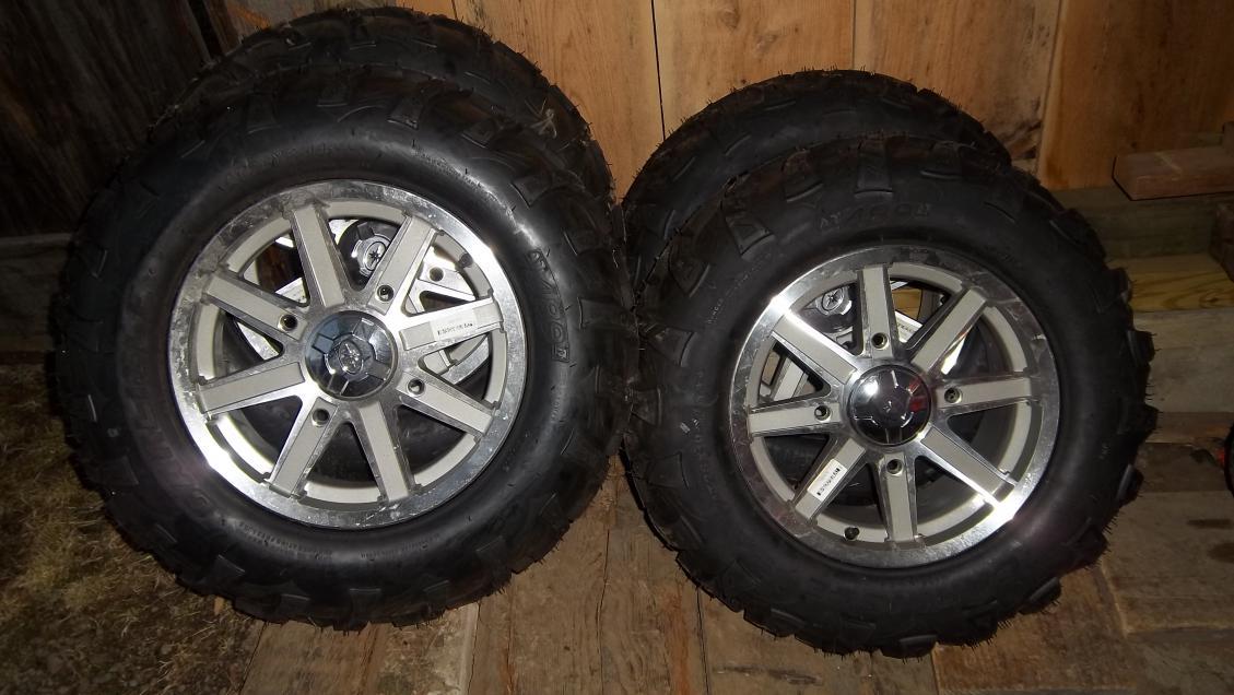 Polaris Factory Aluminum Wheels & Tires - Polaris ATV Forum
