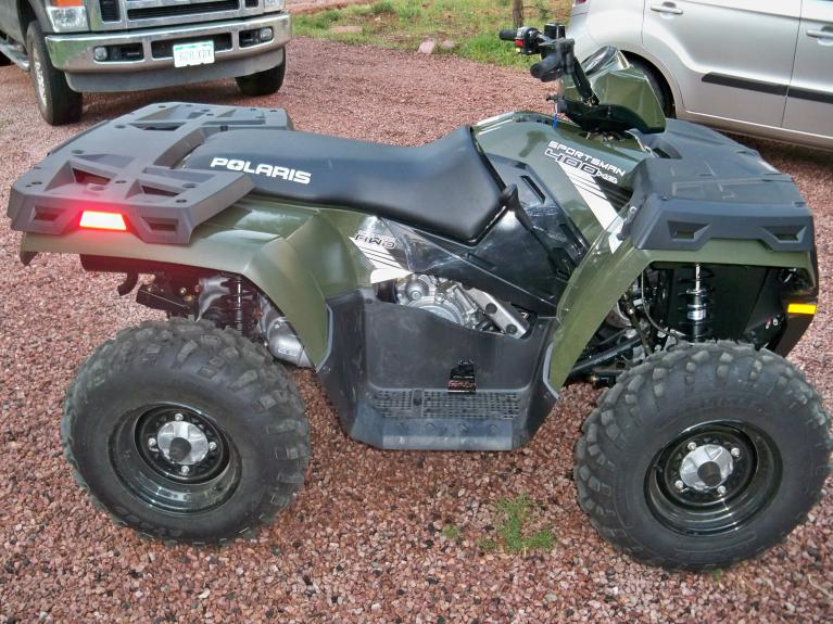 2013 sportsman 400 just purchased - Polaris ATV Forum