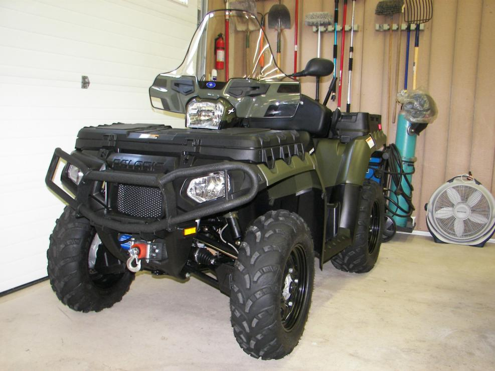 2011 Sportsman X2 850 With 17 Hours And Extd Warranty