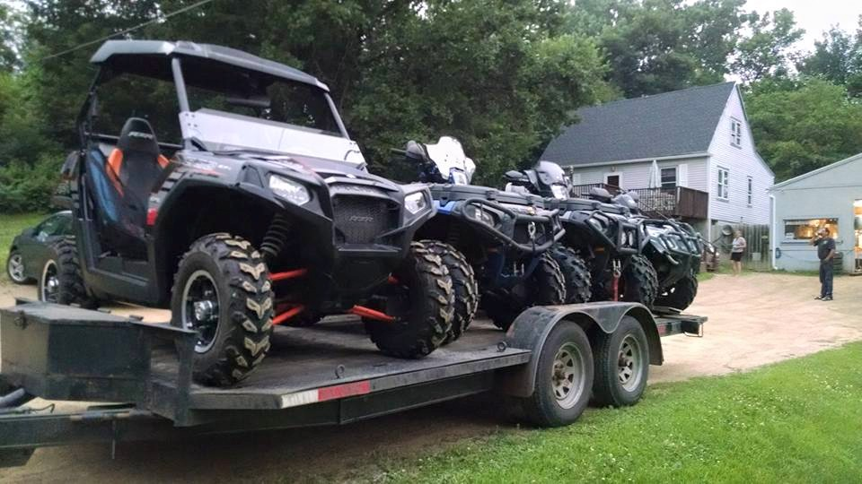 Uhaul trailer?? Can you fit 2 quads on it? - Polaris ATV Forum