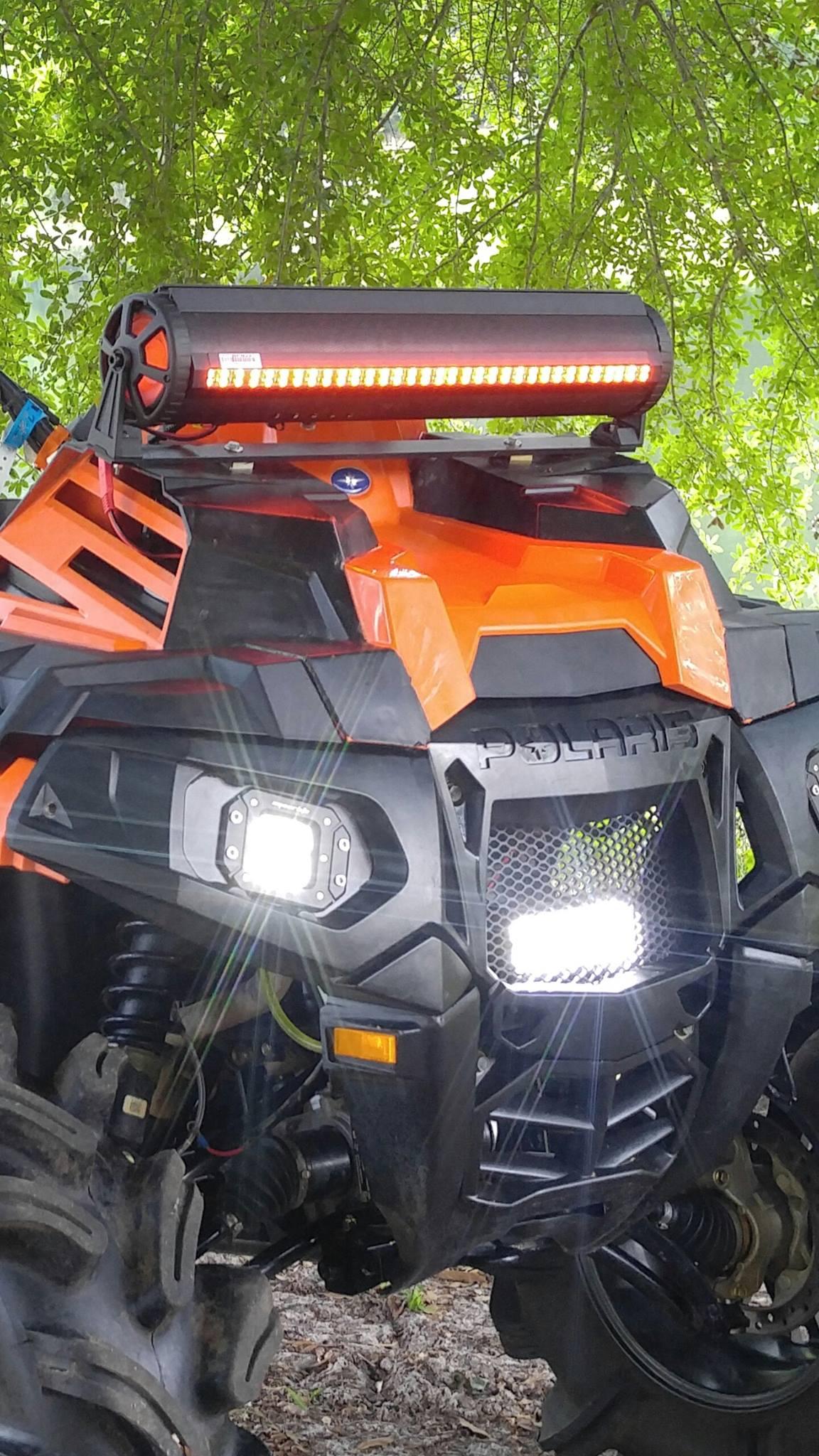 Hays Fabrication Led Lights For Sportsman Rzr Polaris