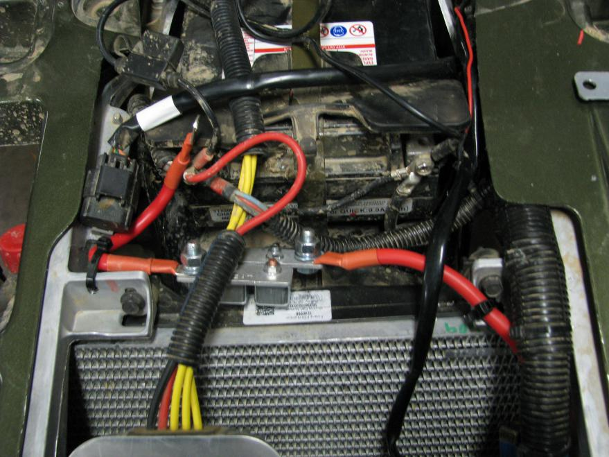 Polaris Sportsman 800 >> Battery wires question - Polaris ATV Forum