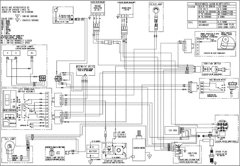 Polaris Xplorer 250 Wiring Diagram