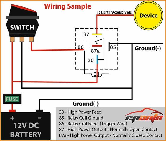 Led Light Bar Wiring Diagram With Relay from www.polarisatvforums.com