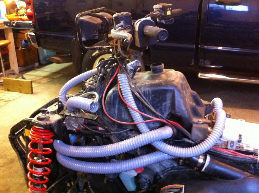Anyone snorkeled the drivebelt intake on Scrambler 500