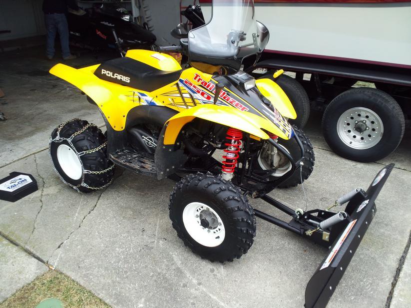Polaris Trailblazer 250 >> I picked up 03 Trail Blazer for brother - Polaris ATV Forum