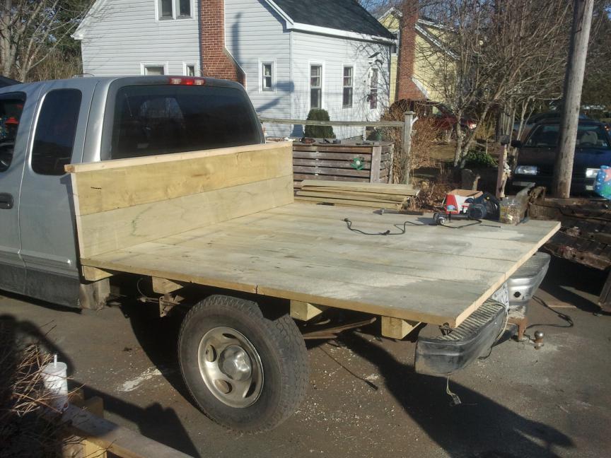 Truck Flatbed Conversion Page 3 Polaris Atv Forum