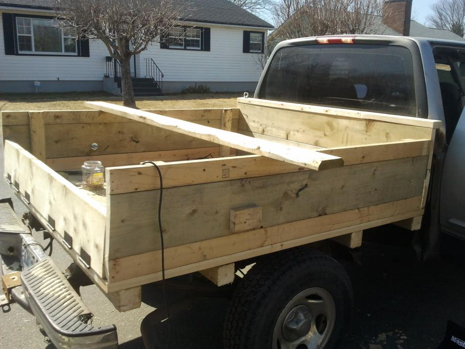 Wood Flatbed For Pickup Truck Pdf Woodworking