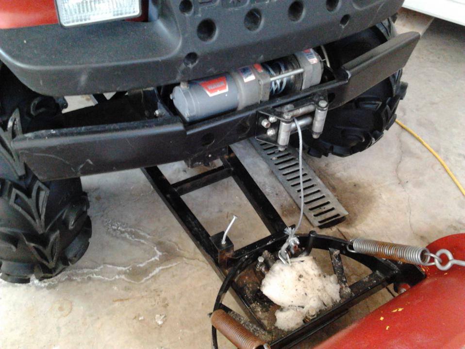 Polaris Side By Side >> winch cable on plows? - Polaris ATV Forum