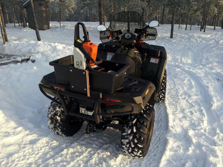Polaris Side By Side Atv >> Chainsaw boot - Polaris ATV Forum