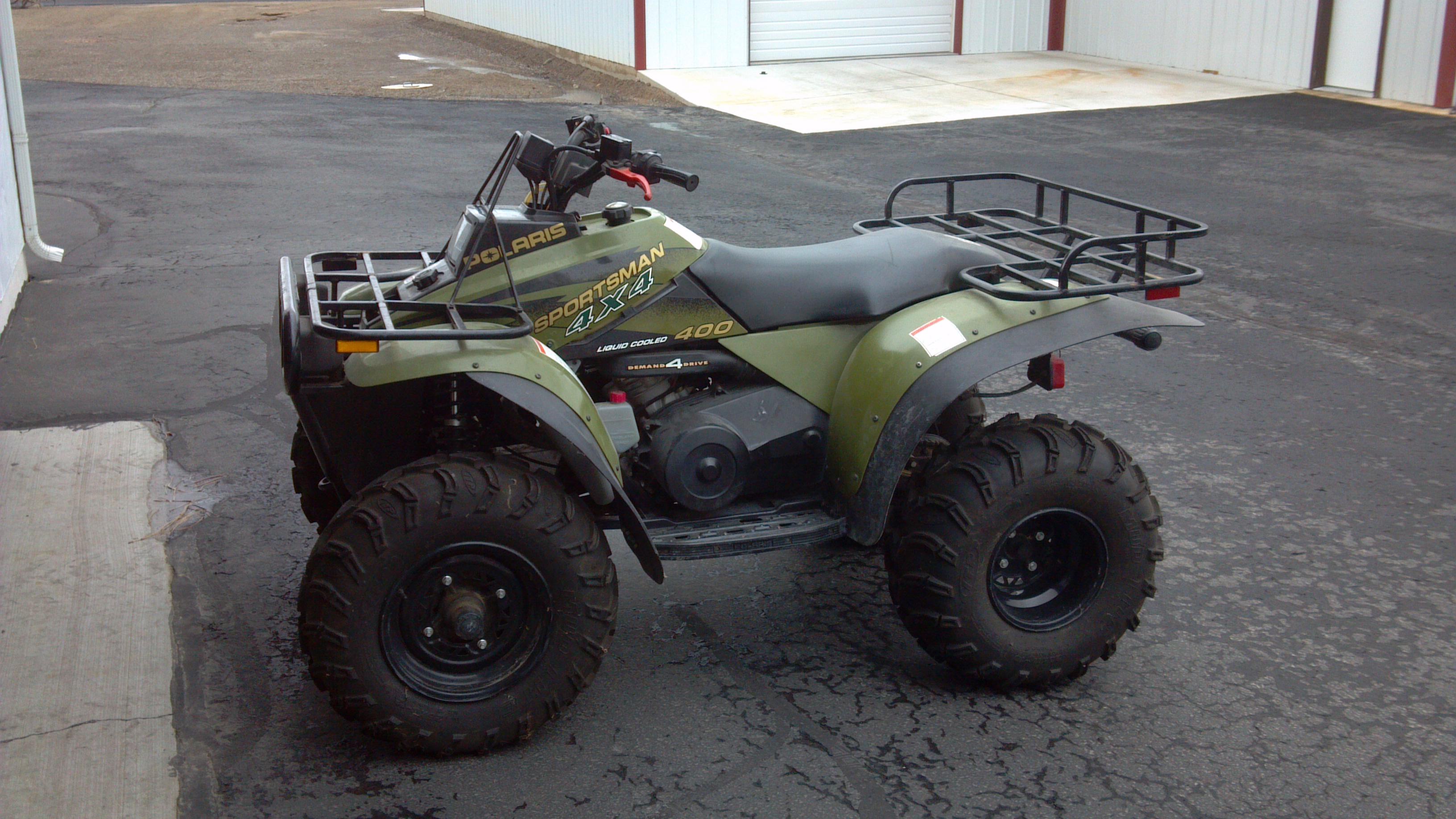 quad polaris 400cc