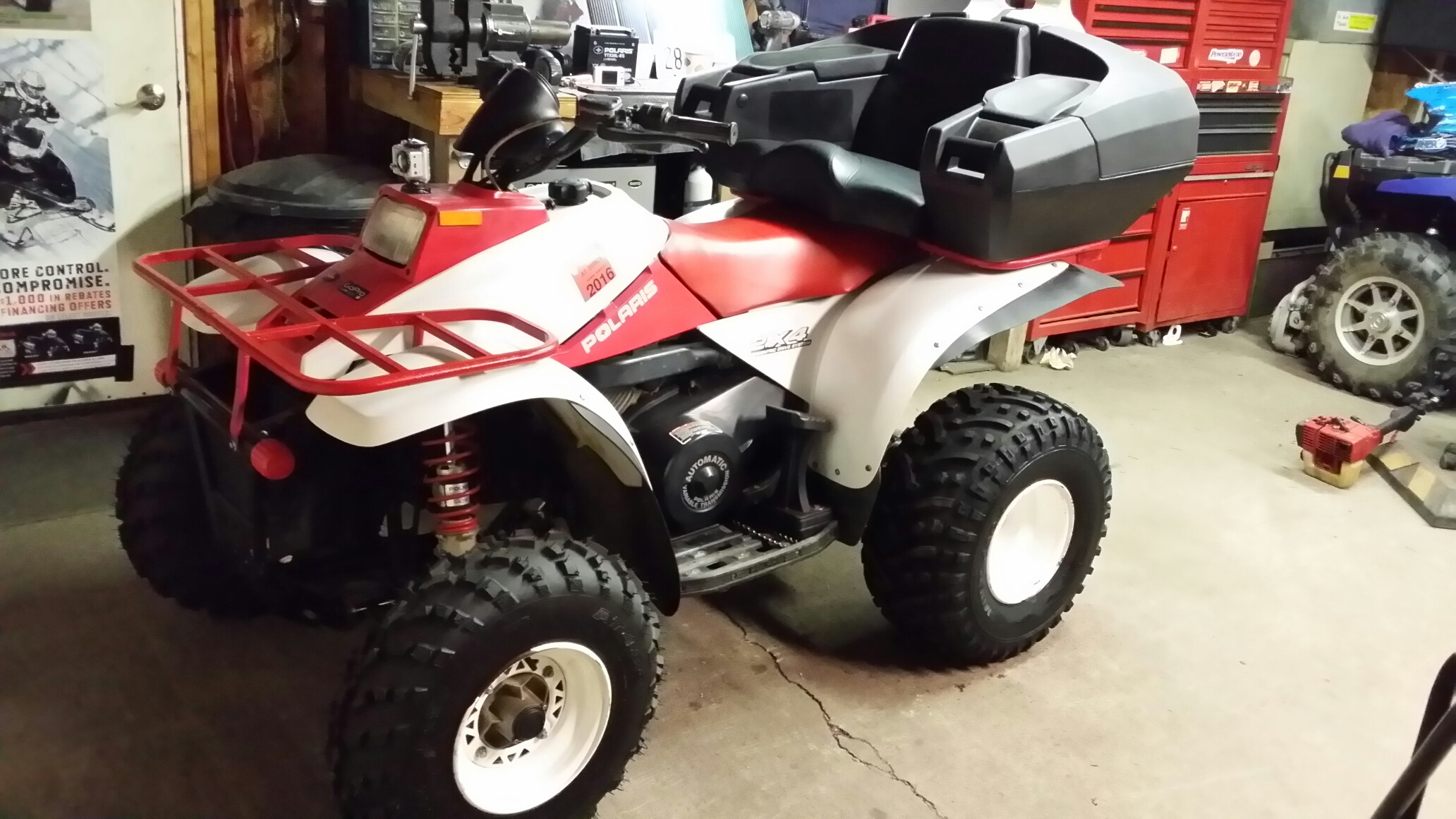 Polaris 325 Atv Mirror Free Download Magnum Wiring Diagram Finished Restore On 2001 Trail Boss Forum
