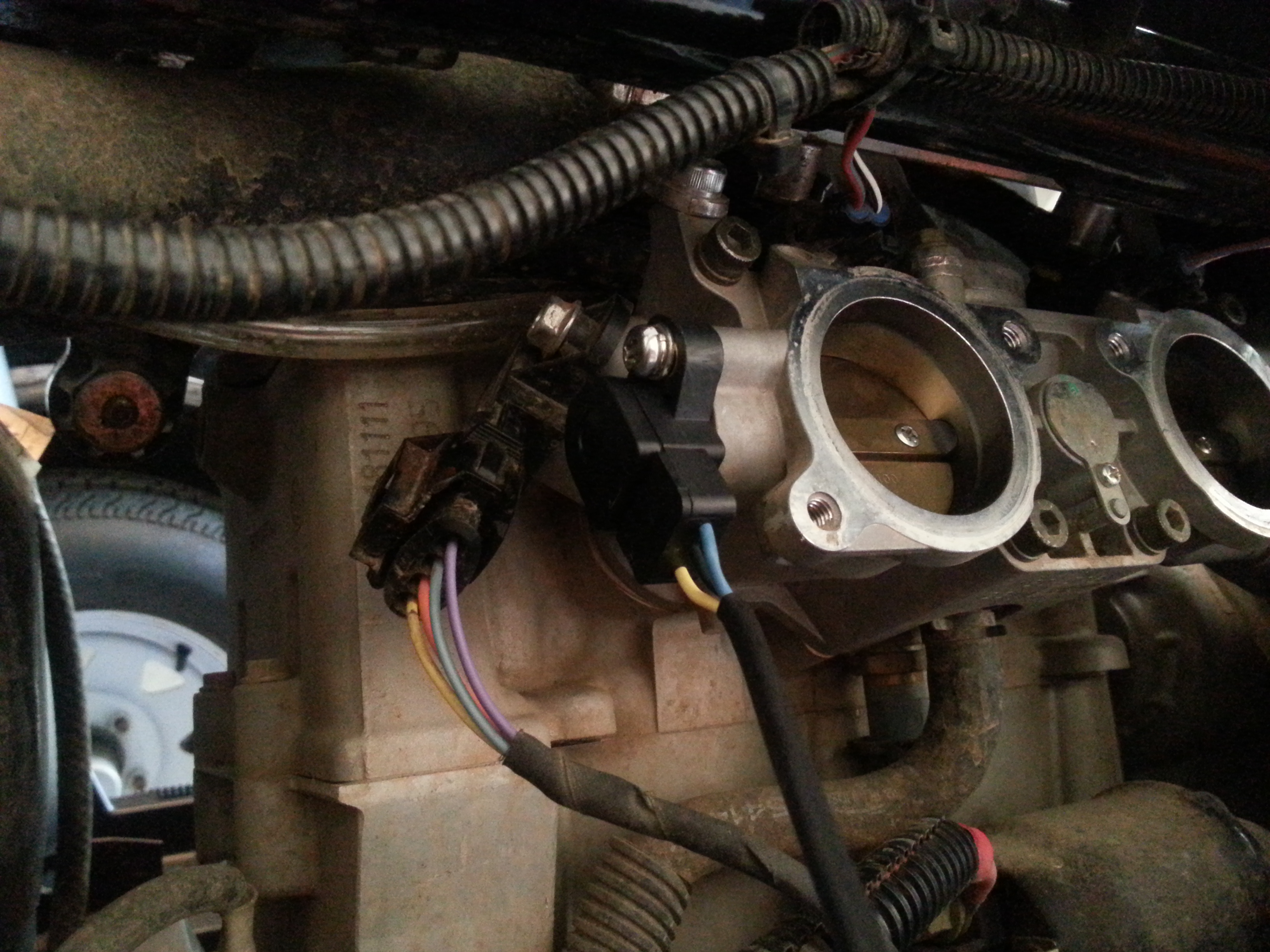 D Check Engine Stuck Throttle Cable