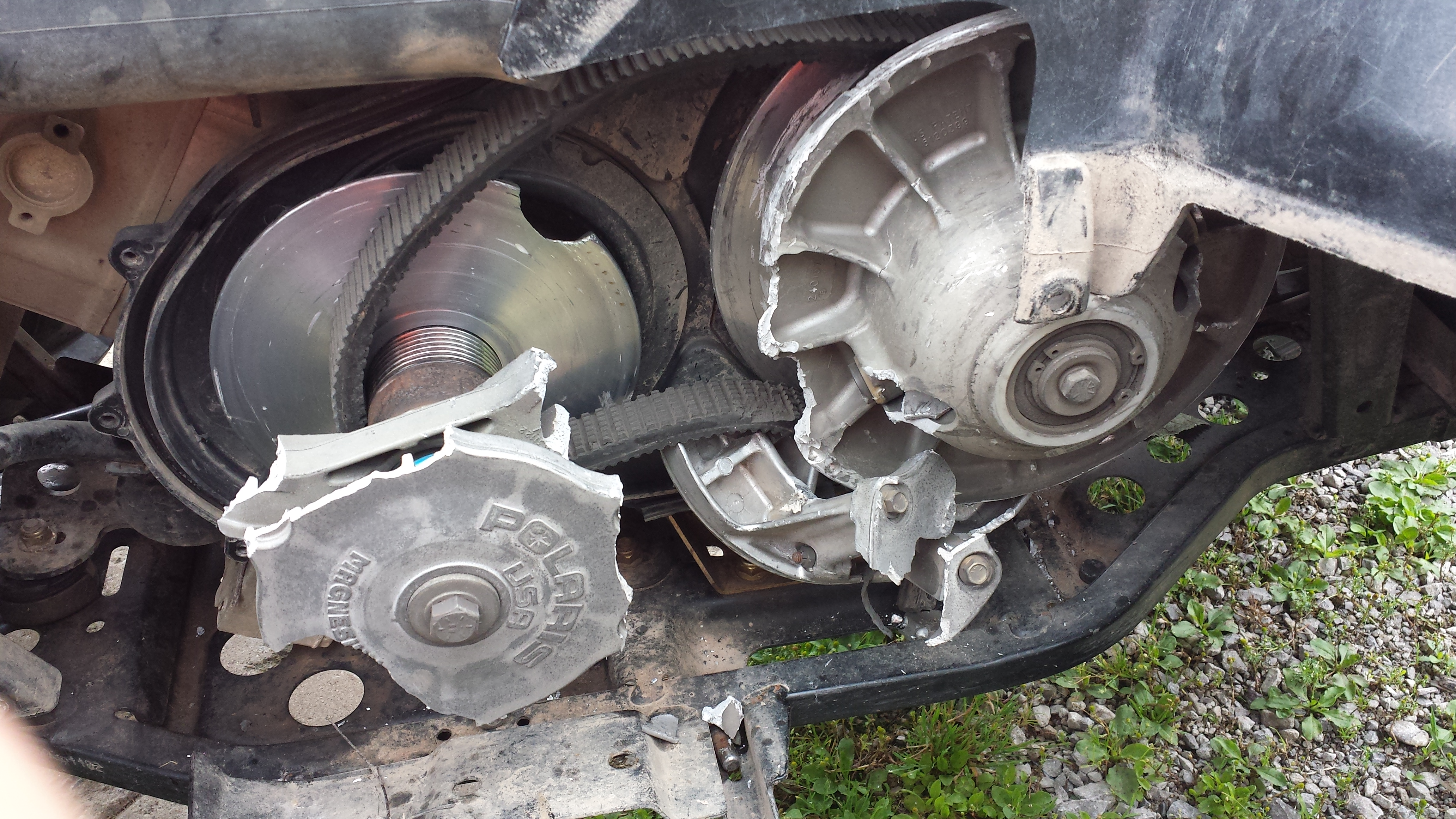 Clutch Exploded 300 Miles On Machine Polaris Rzr Forum