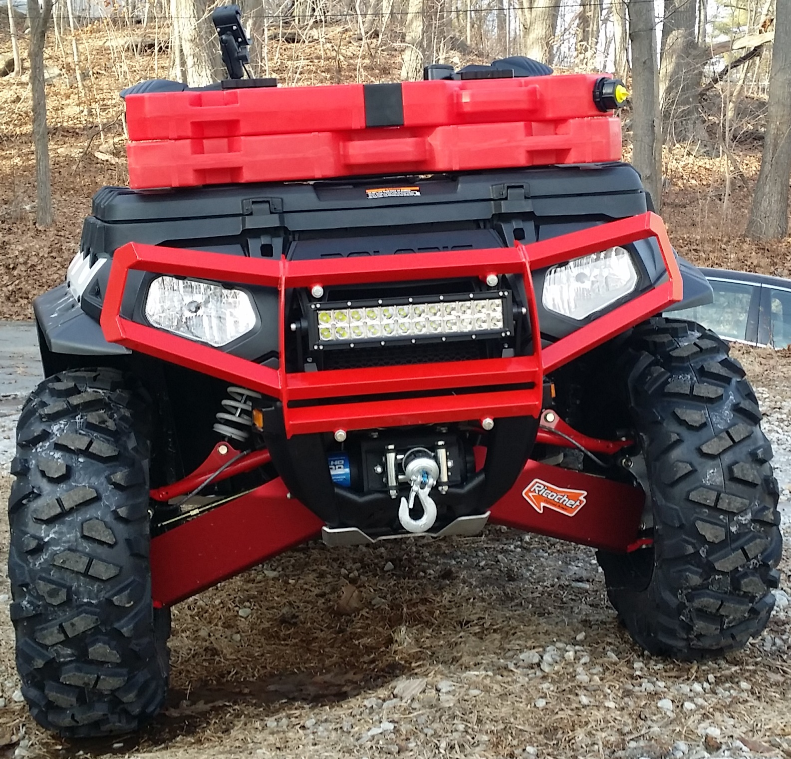 Led light bar page 2 polaris atv forum attachment 24159 mozeypictures Image collections