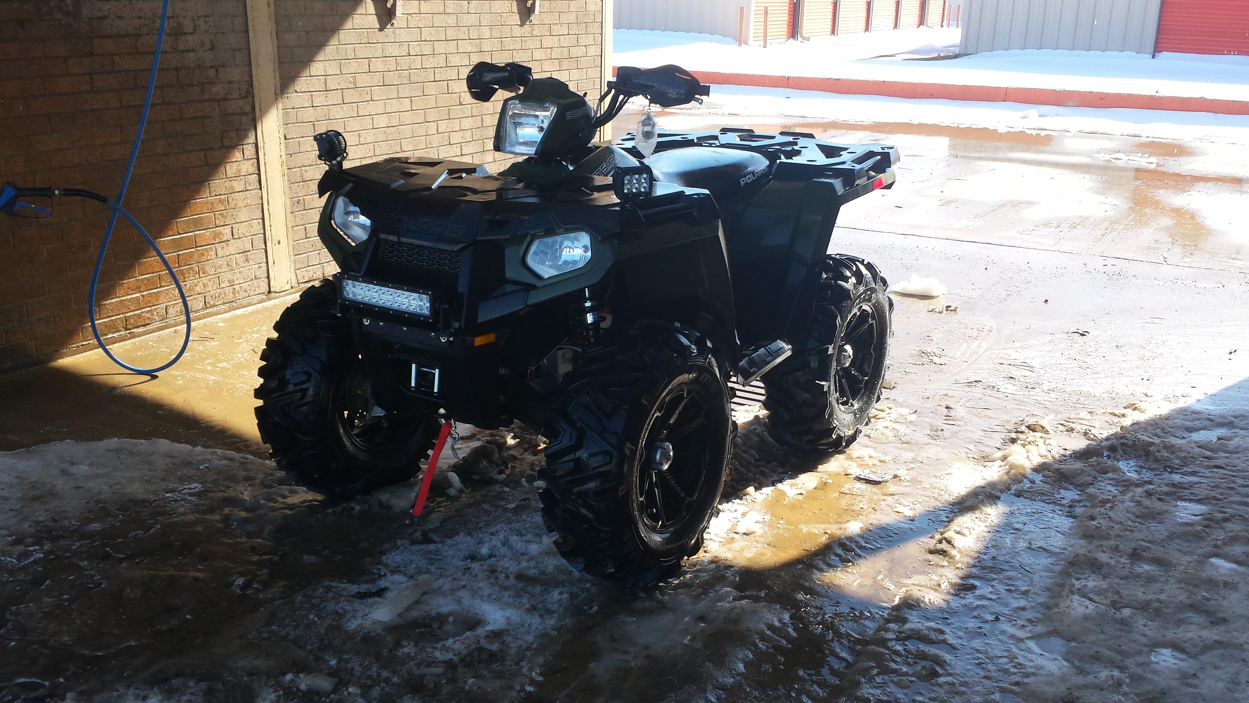 4 Inch Lift Kit >> sportsman 570 mods - Polaris ATV Forum