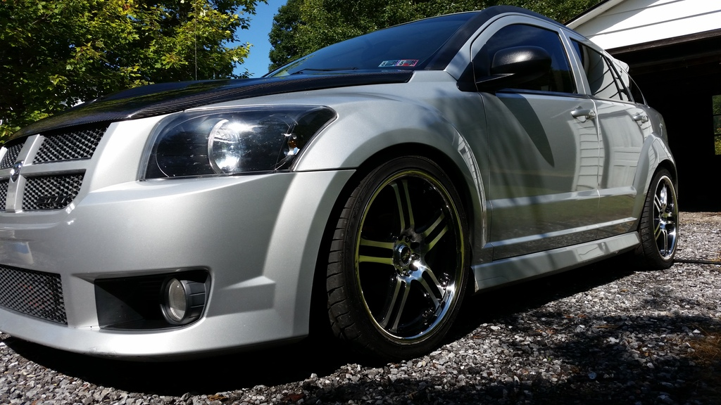 2008 dodge caliber srt 4 money pit street drag polaris. Black Bedroom Furniture Sets. Home Design Ideas