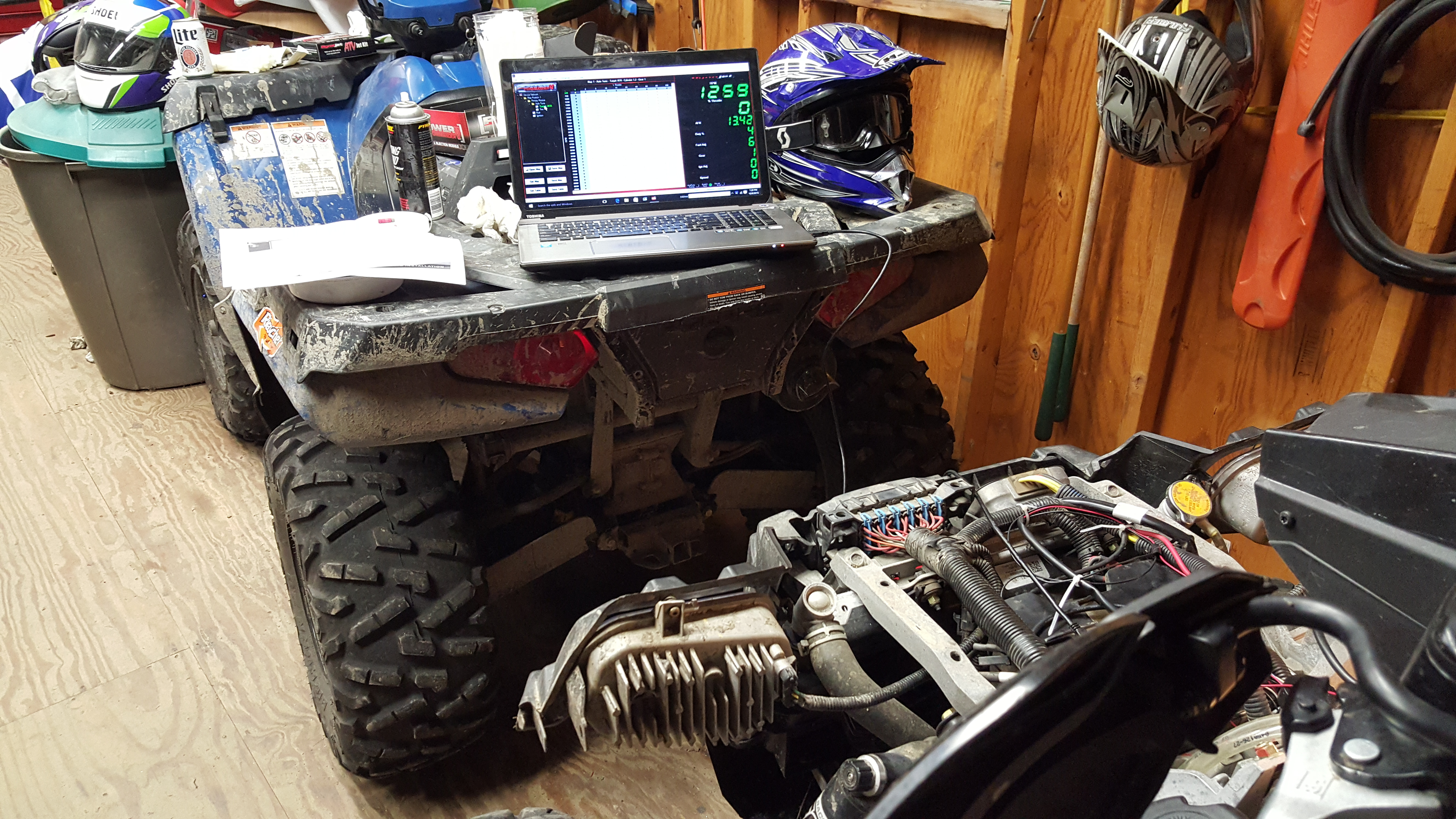 Power commander 5 and Auto tune installed - Polaris ATV Forum