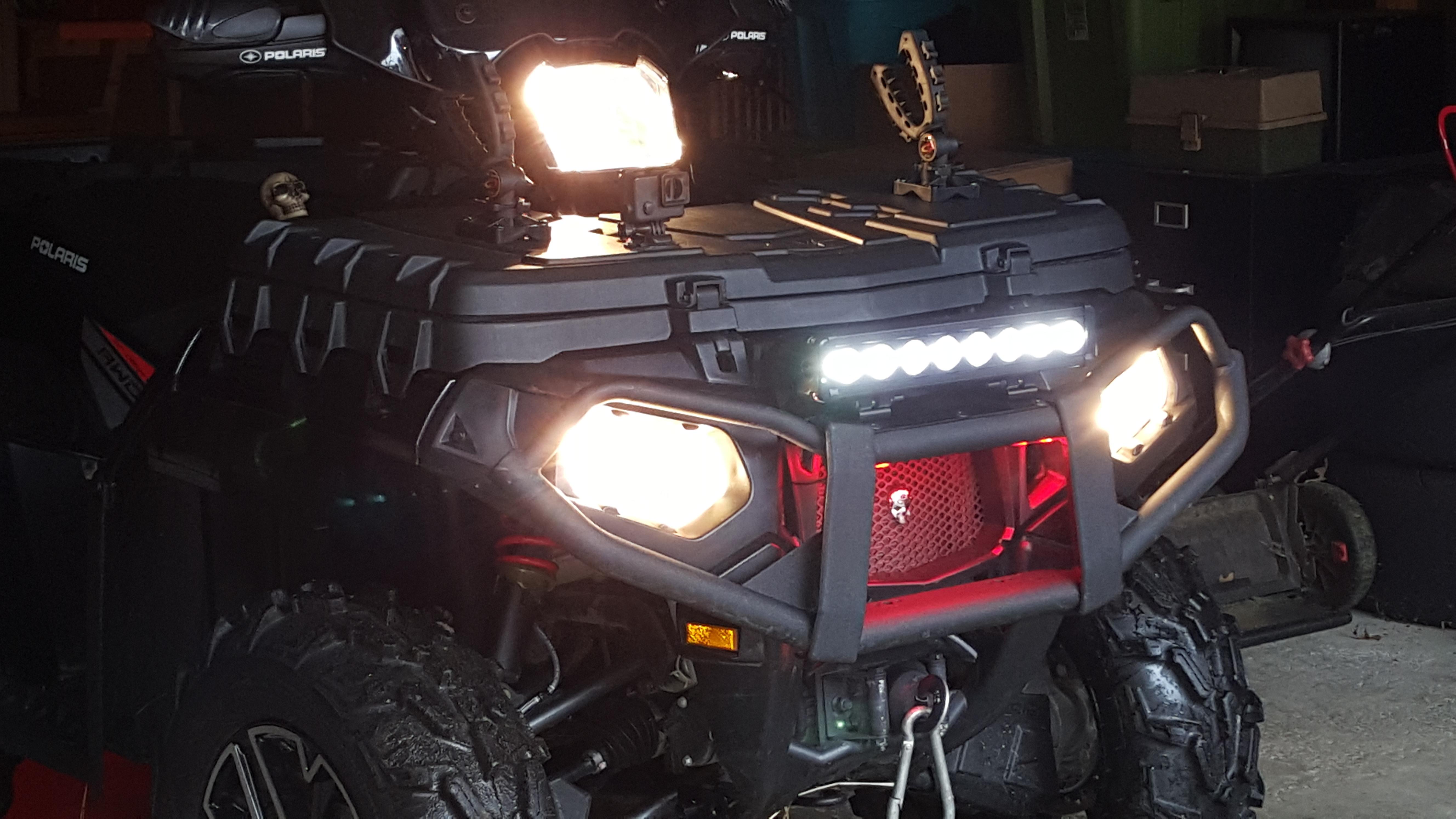 Single Row Led Light Bar >> Polaris LED light bar replacement - Polaris ATV Forum