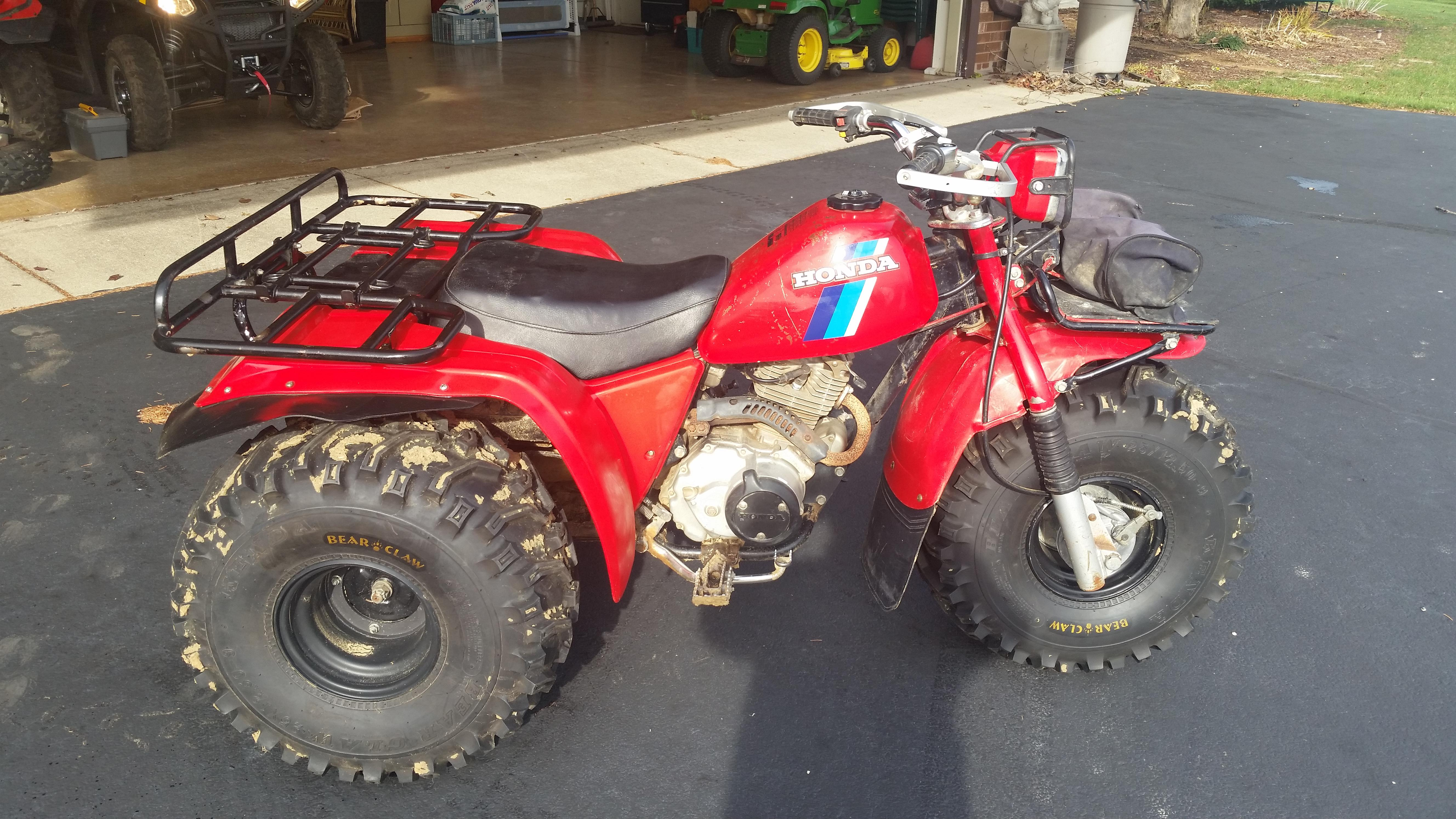 1984 Honda 200es 3 Wheeler For Sale  Chicago Area