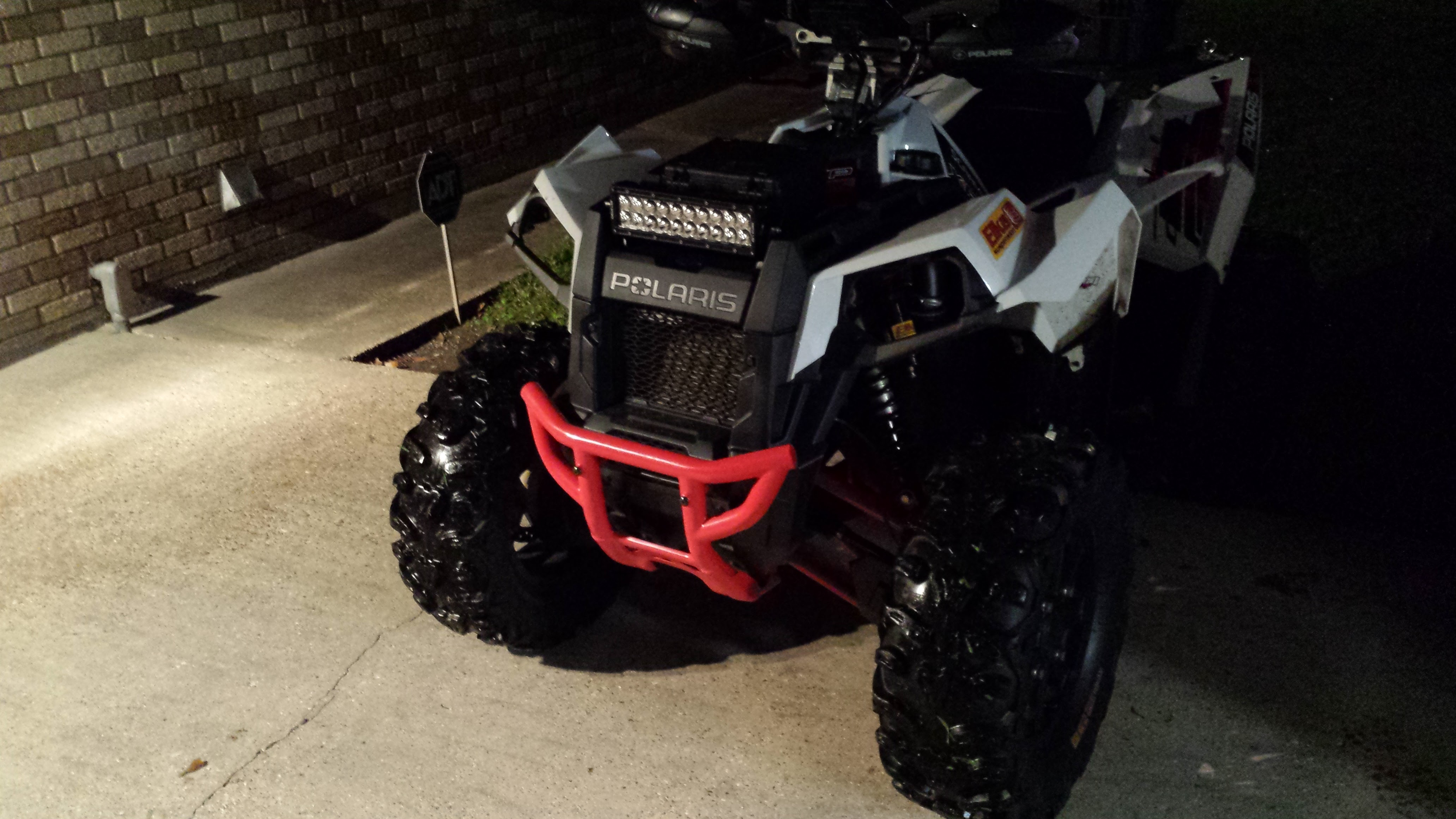 Pics Of Light Bars On Scrambler 1000 And Info