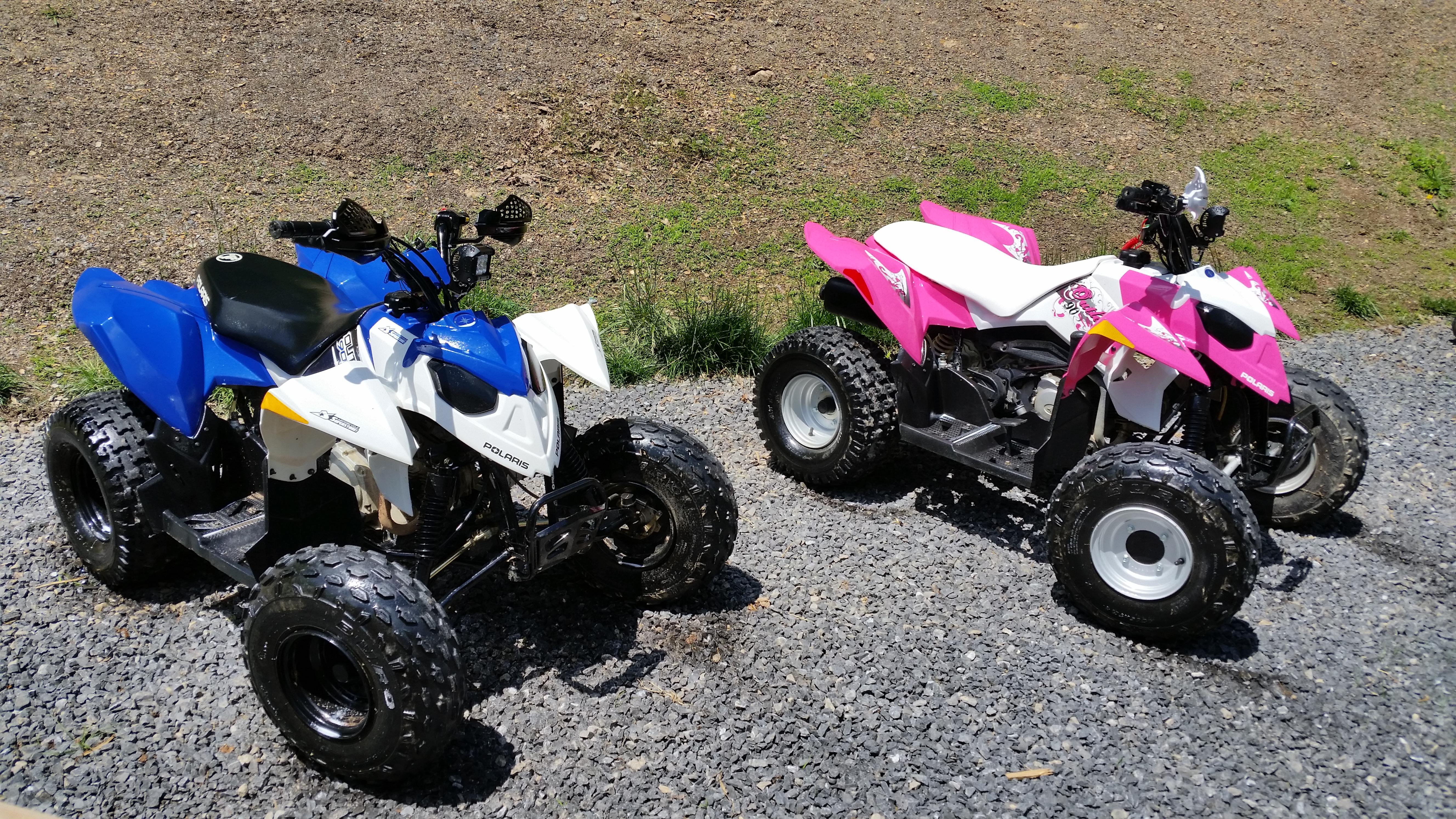 Polaris Outlaw 50 >> Custom outlaw 90s - Polaris ATV Forum
