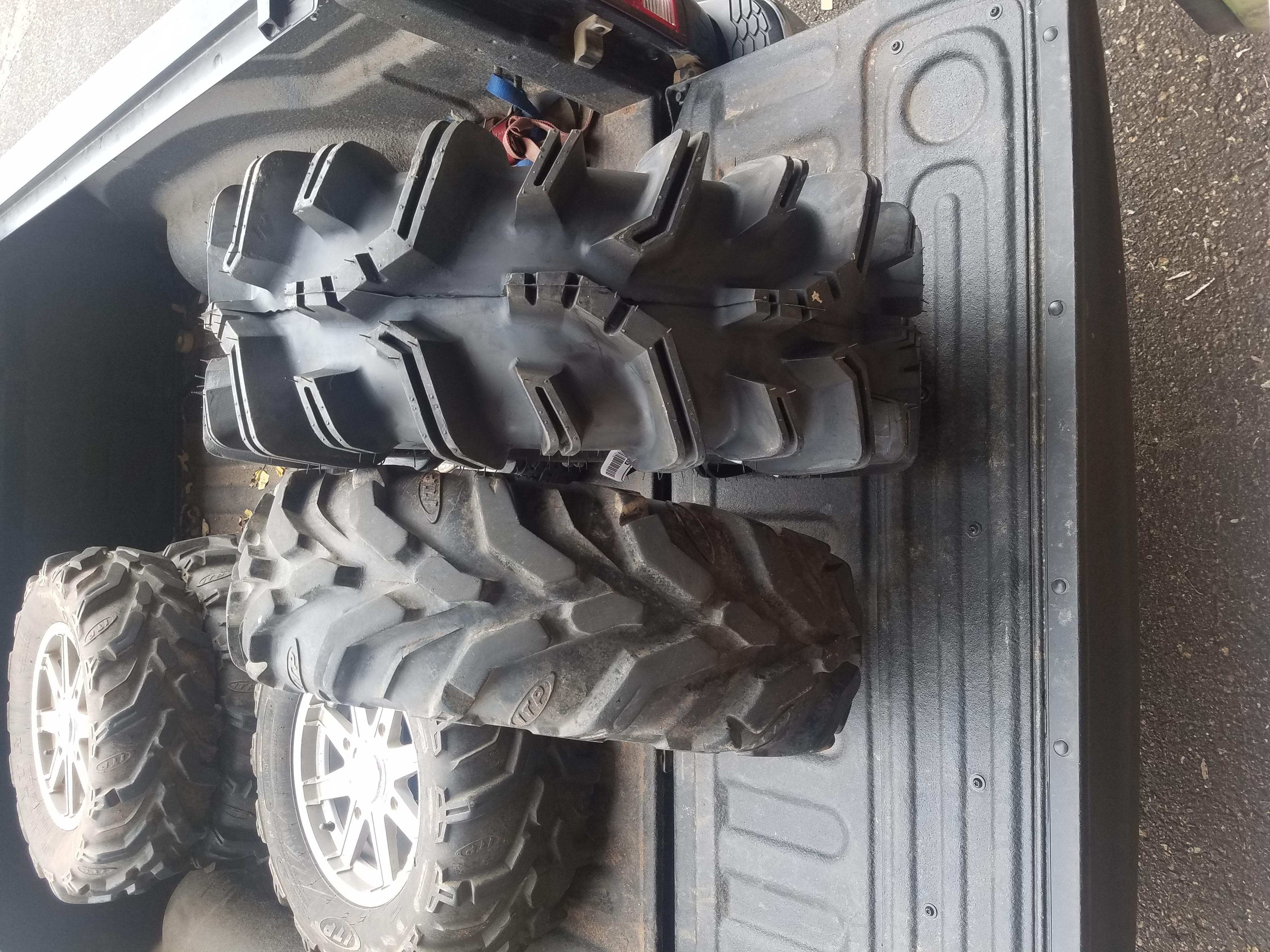 """28 30"""" Mud Tires Polaris ATV Forum"""
