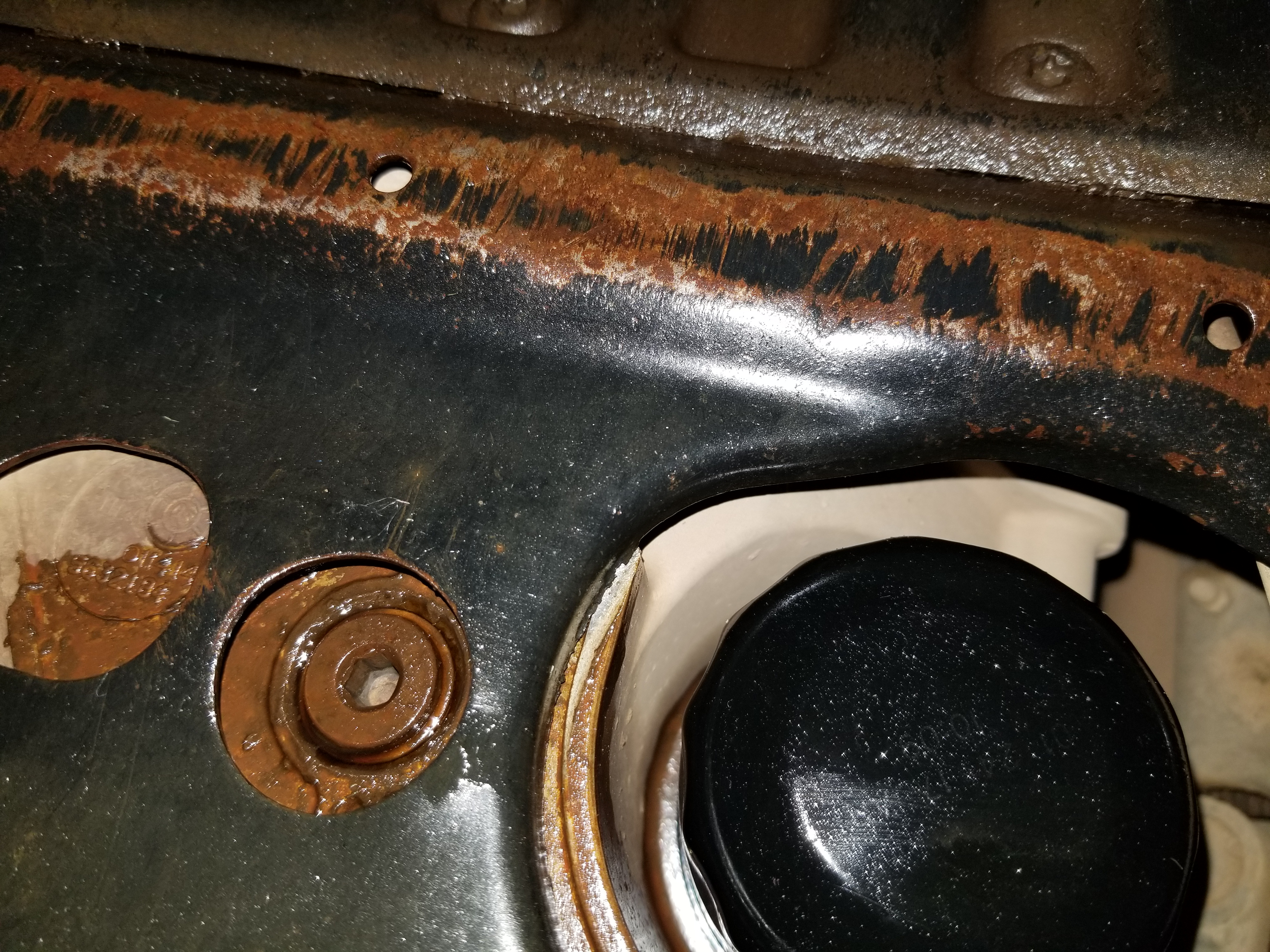 4 Seater Atv >> Stripped oil drain plug, how to fix? 2012 Sportsman 850 ...