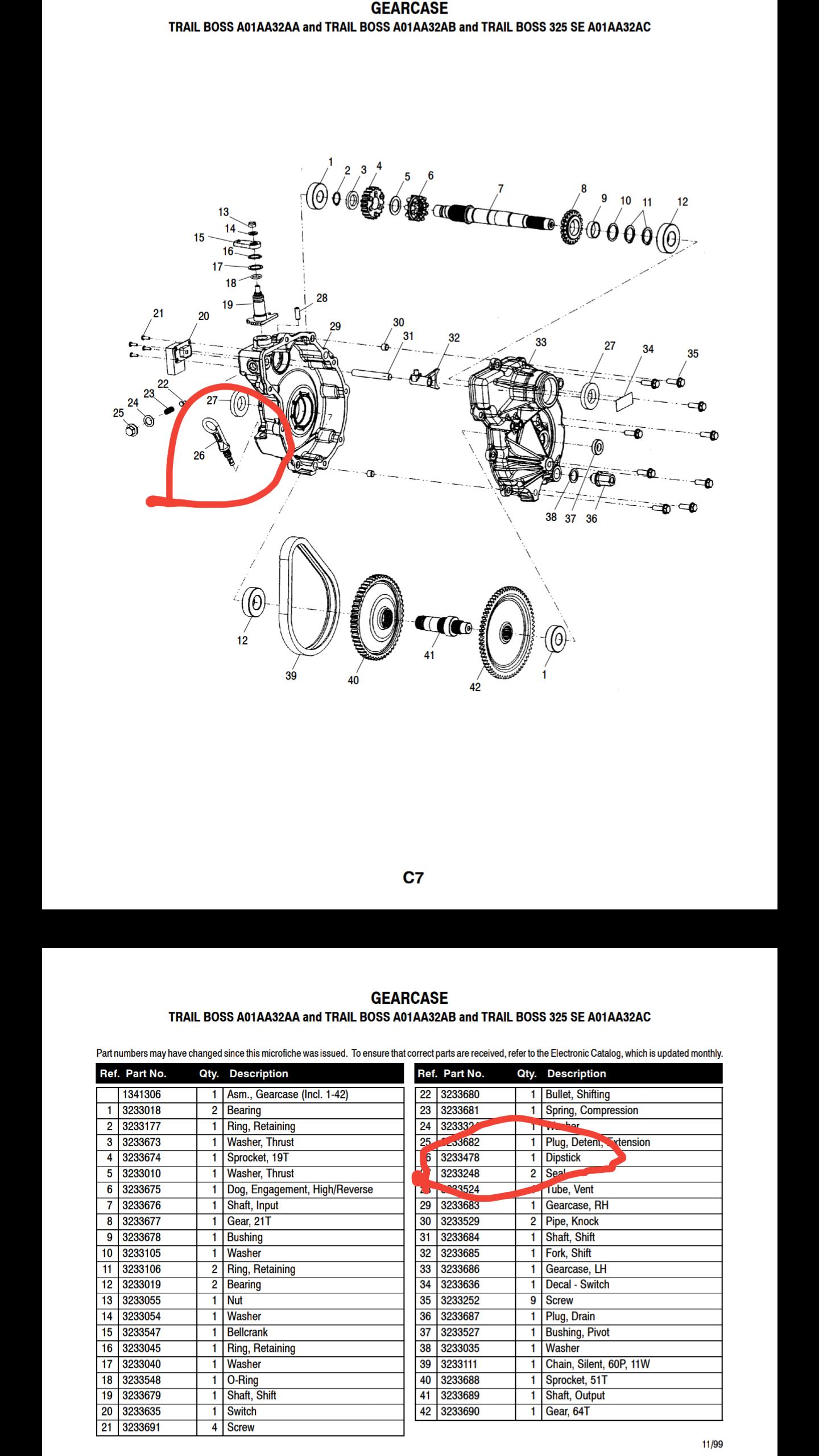 polaris trail boss 325 repair manual