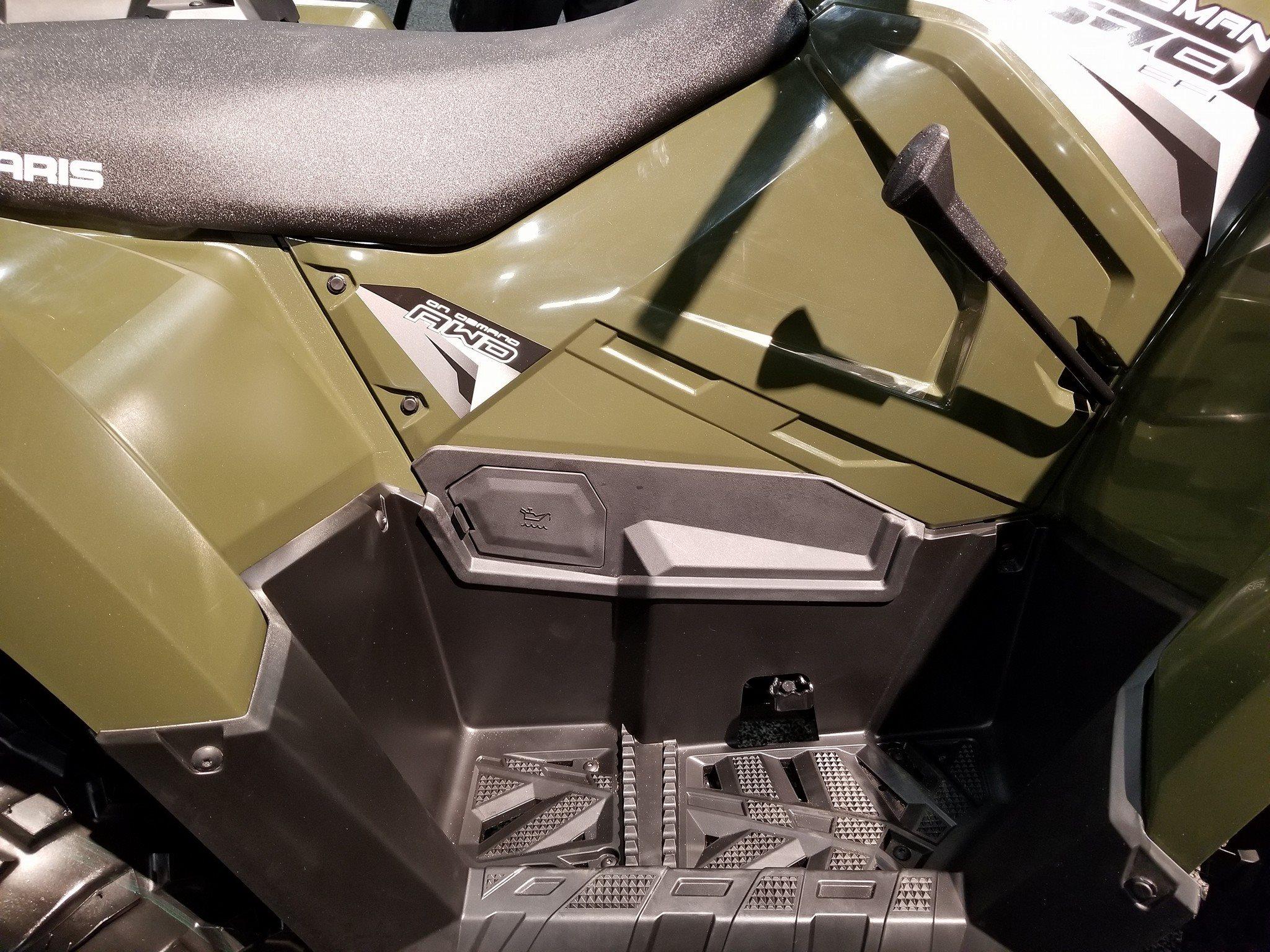 Polaris Side By Side Atv >> 2018 570 with more heat paneling - Polaris ATV Forum