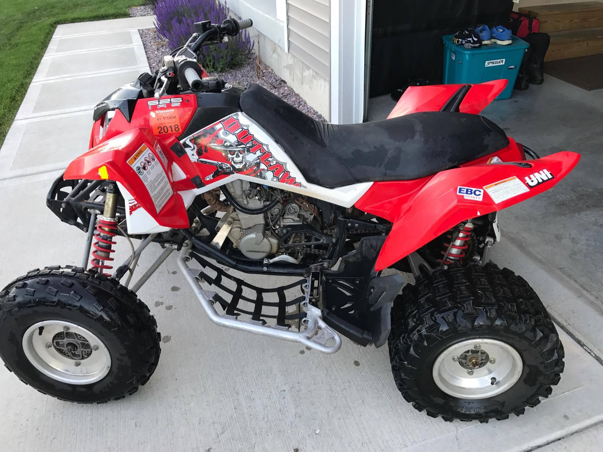 Polaris Outlaw 525 >> 2008 Polaris Outlaw 525 IRS For Sale - Polaris ATV Forum