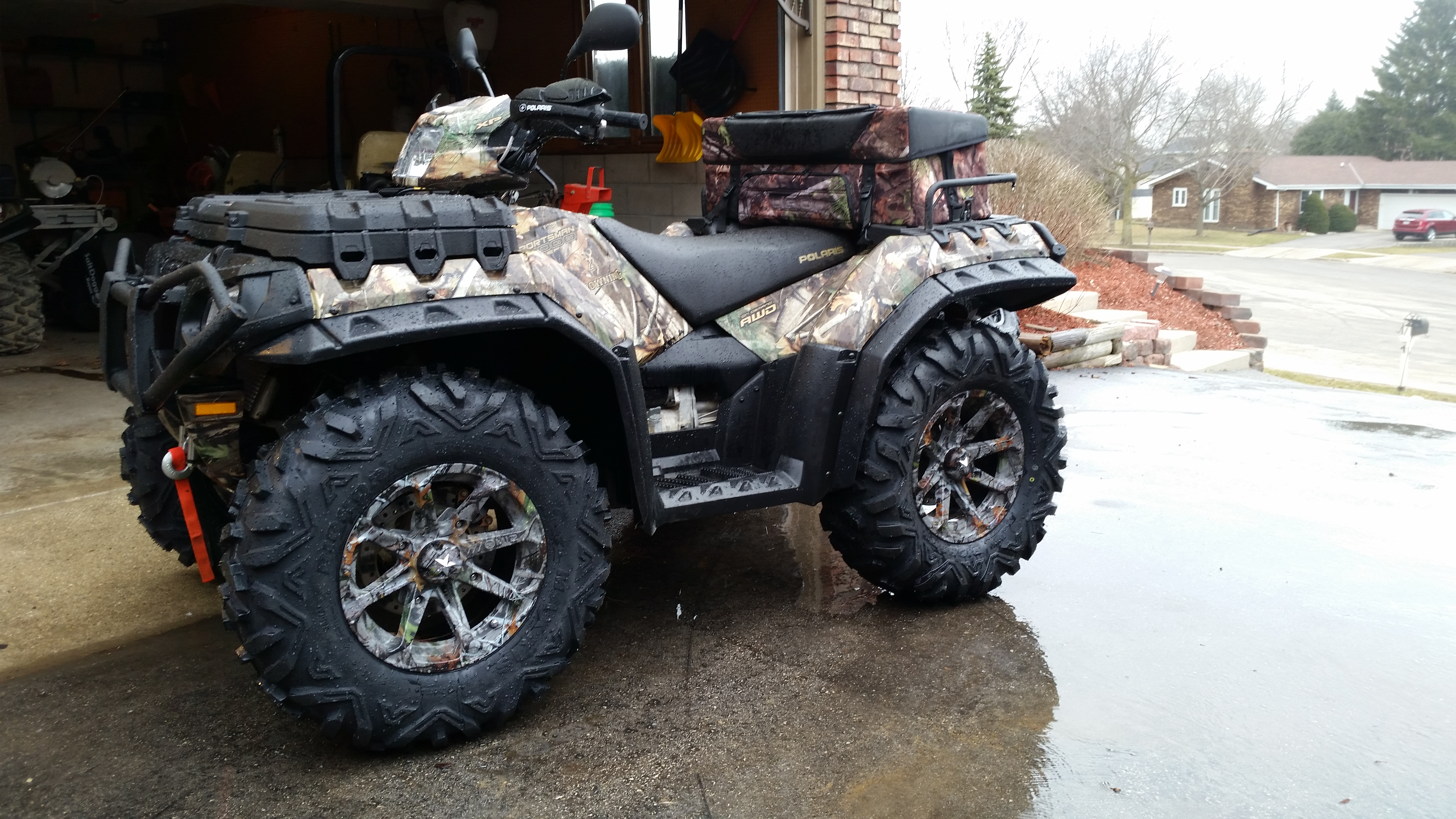 Can Am 1000 >> Got my new tires/rims on BUT........... - Polaris ATV Forum