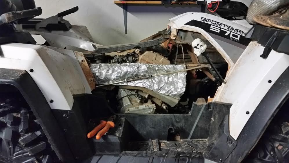 Exhaust Heat Shield  Barrier