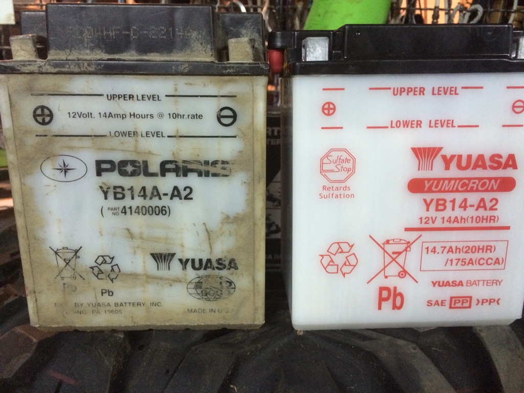 Polaris Sportsman 800 >> Battery Help - Polaris ATV Forum