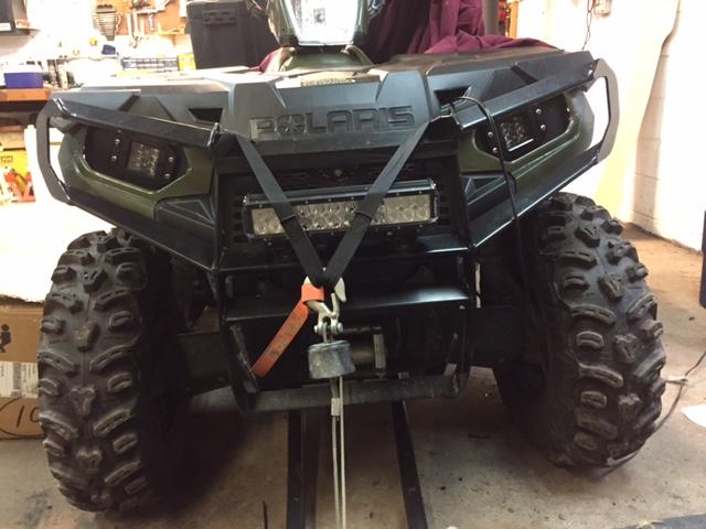 Used Polaris Ranger >> Homemade LED Pods - Polaris ATV Forum