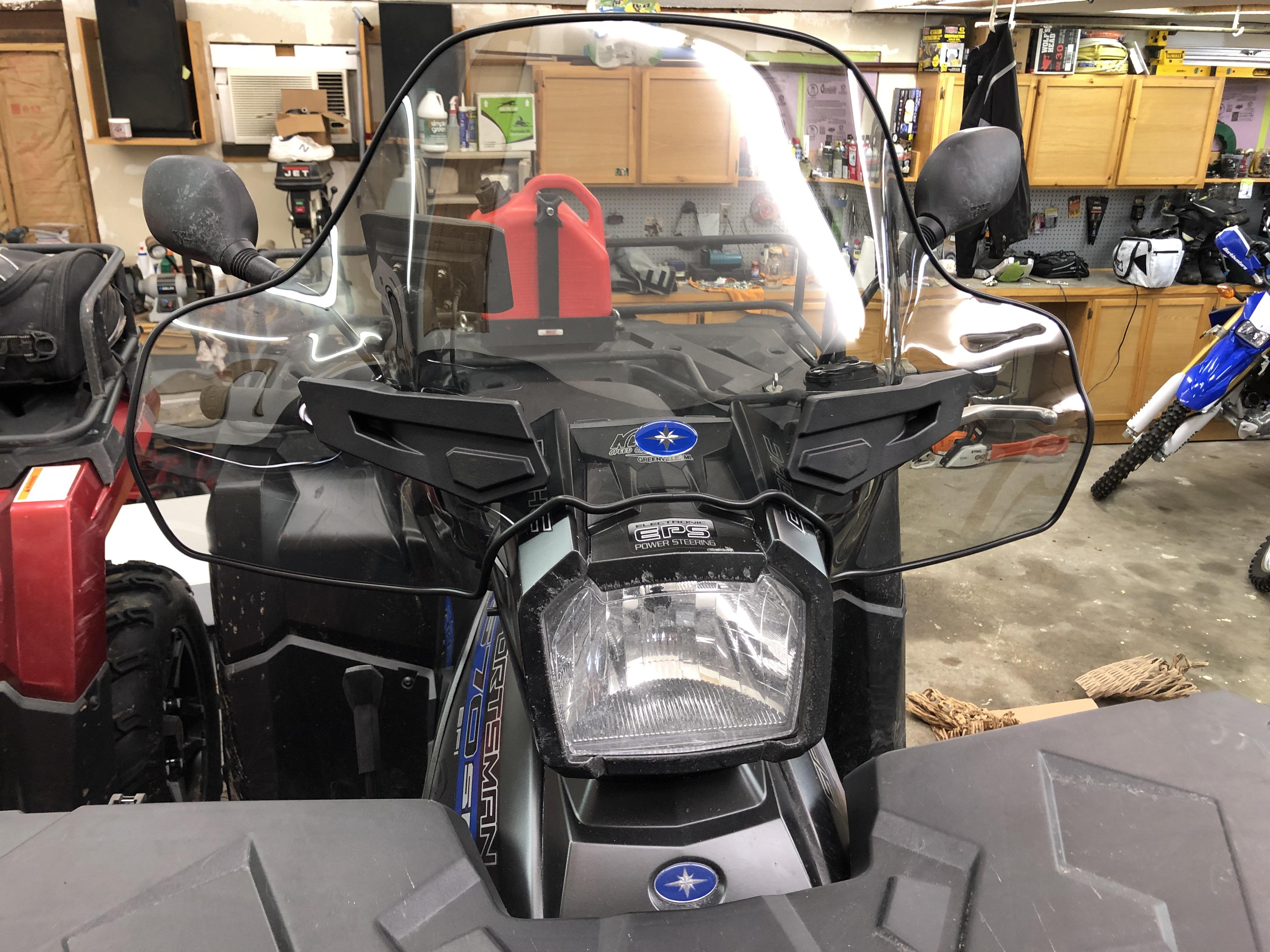 2016 Sportsman 570 Lock And Ride Windshield Polaris Atv