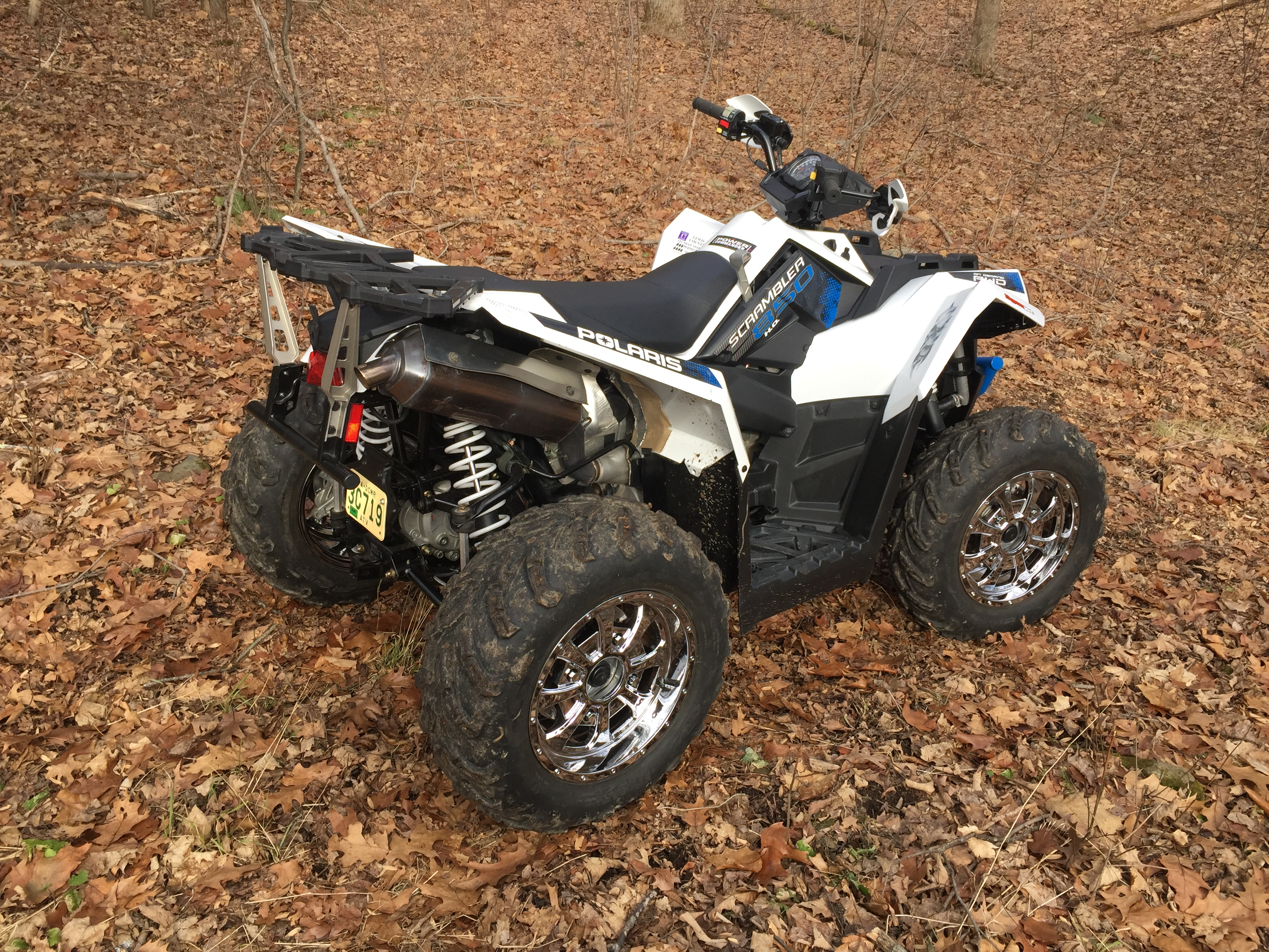 New Mods 2016 Scrambler 850 Polaris Atv Forum