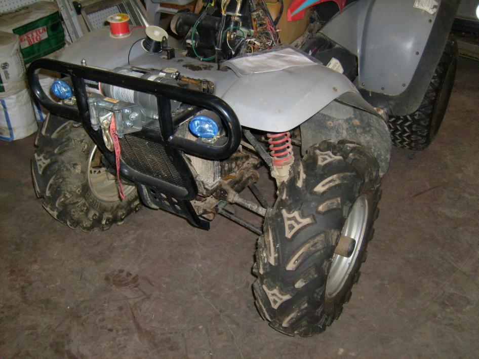 Front Bumper Repair >> 95 Magnum- winch mount? - Polaris ATV Forum