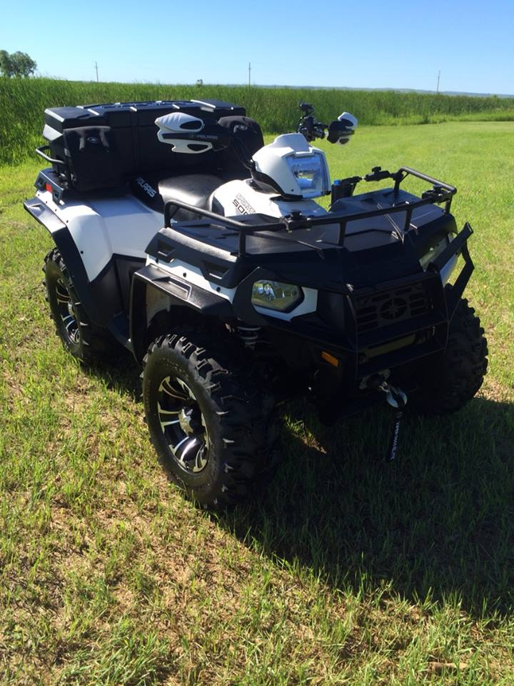 Pictures of Over Fenders on Sportsman 400/500/800 - Polaris