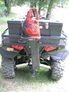 12 Sportsman Chainsaw Mount Polaris Atv Forum