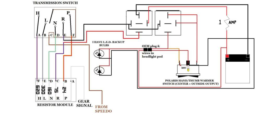 12636d1370681945 reverse work light there must easier way autorev reverse work light there must be a easier way polaris atv forum 2005 polaris phoenix wiring diagram at gsmx.co