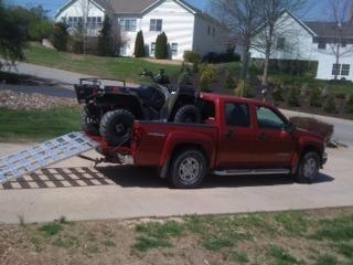 2005 Polaris Sportsman 500 >> Any pics of Sportsman 400/500 in the back of your trucks?? - Page 4 - Polaris ATV Forum