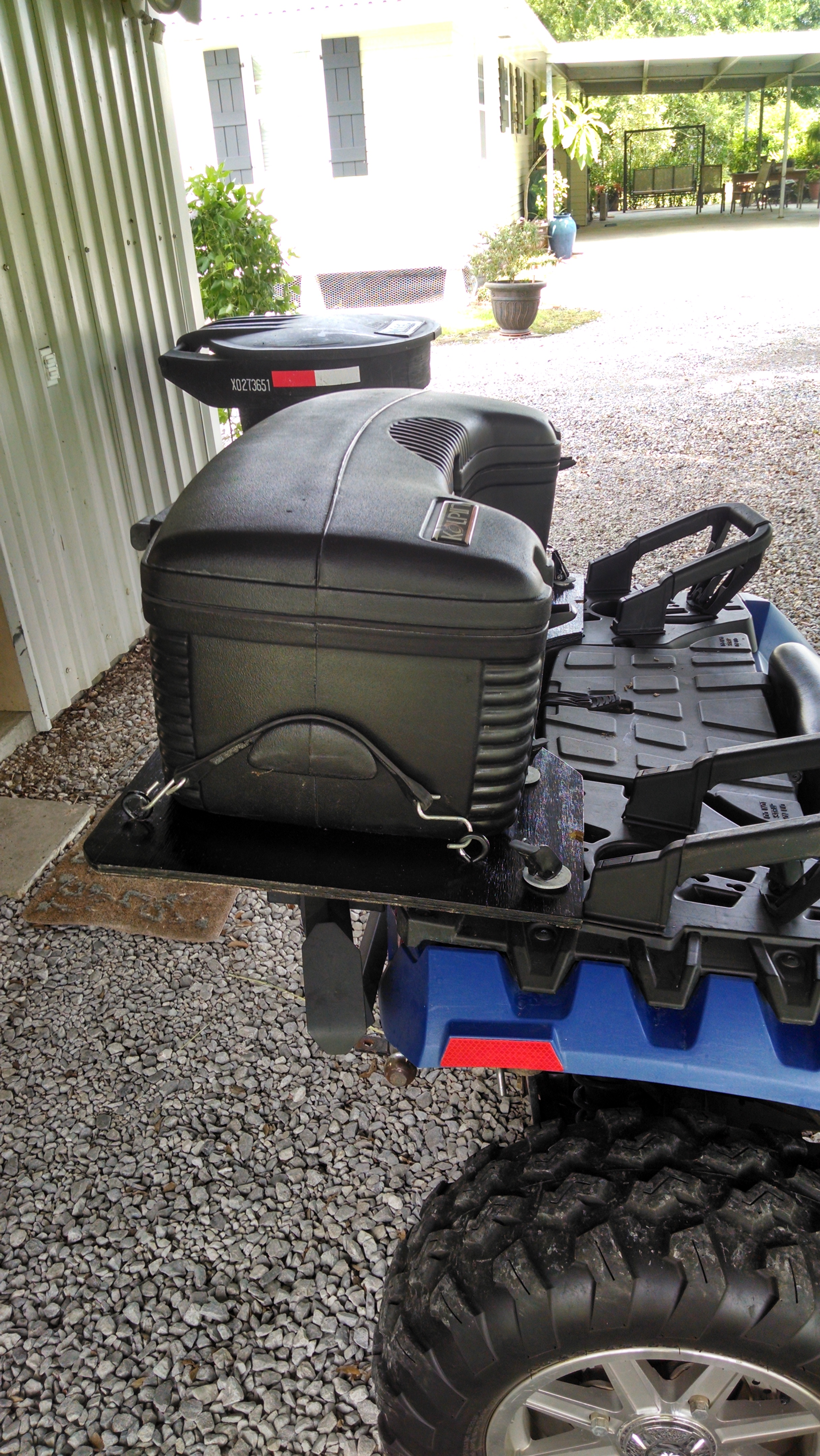 truck itm rear rack vans back bar w guard trucks leader window utility in toyota protector accessories
