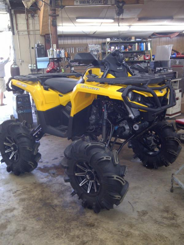 New 2012 Can Am Outlander And Renegade 1000 Polaris