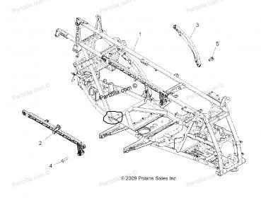polaris 550/850 broken frames  - Polaris ATV Forum